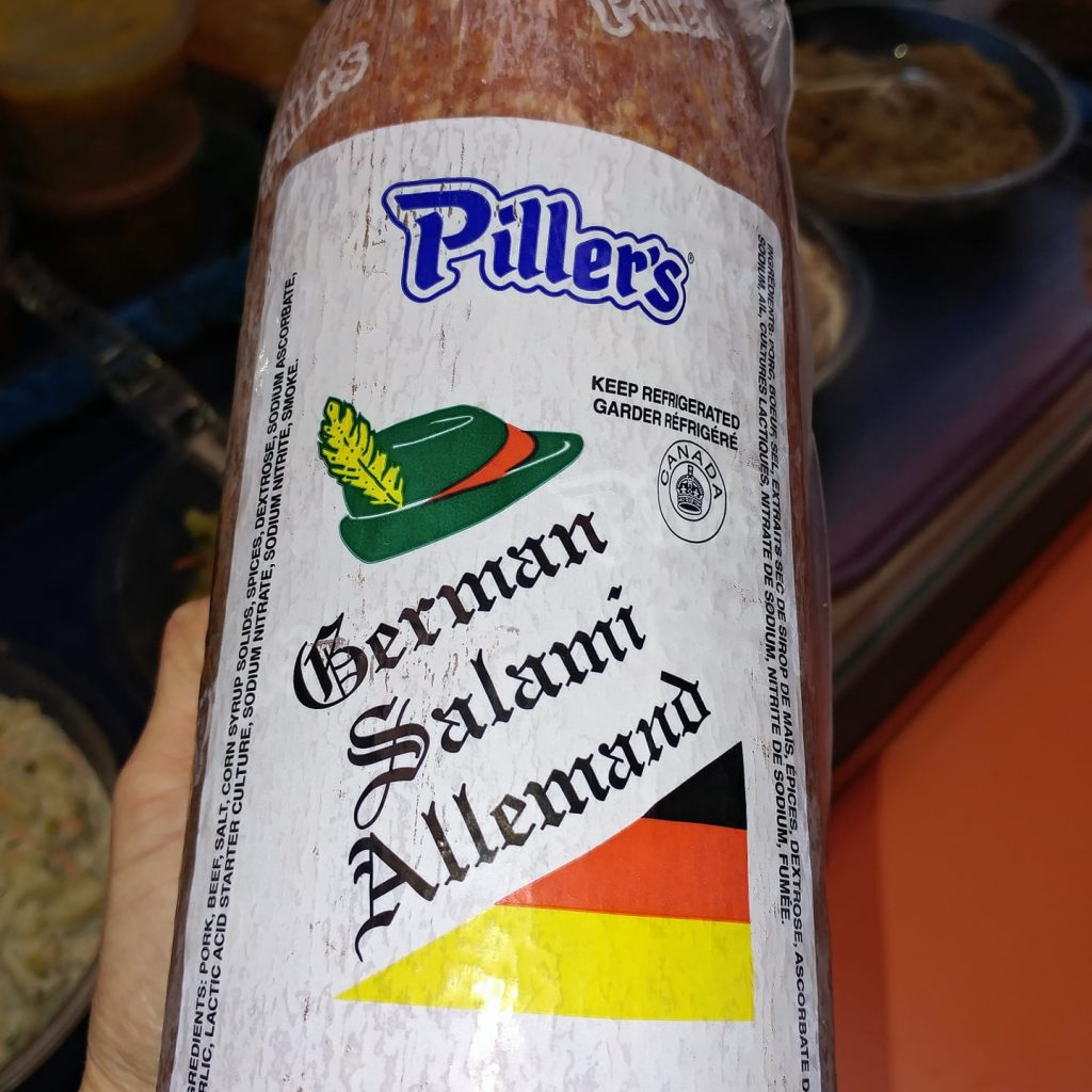 German Salami - oh yes!
